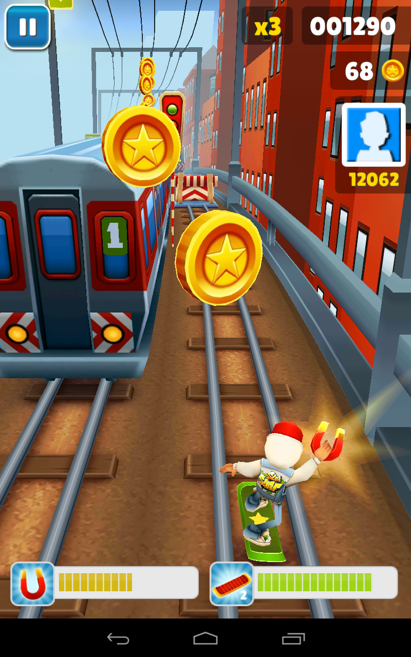 get coins subway surfers