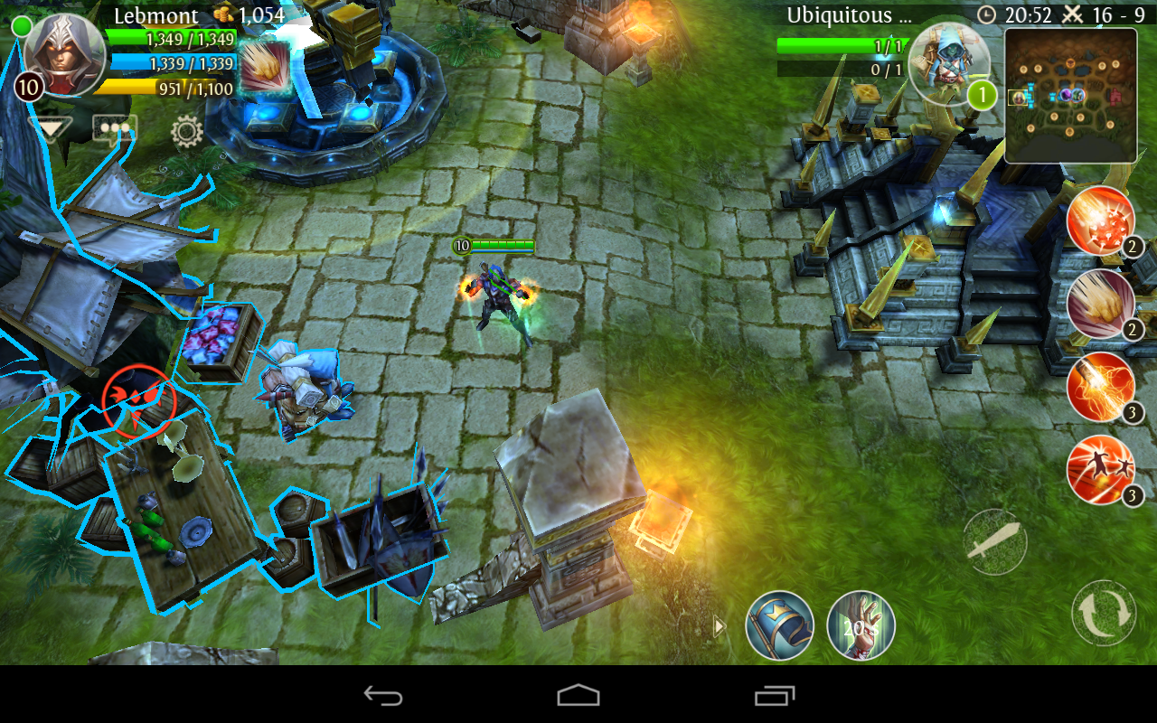 Heroes of Order & Chaos (Jeu Android) - Images, vidéos ...