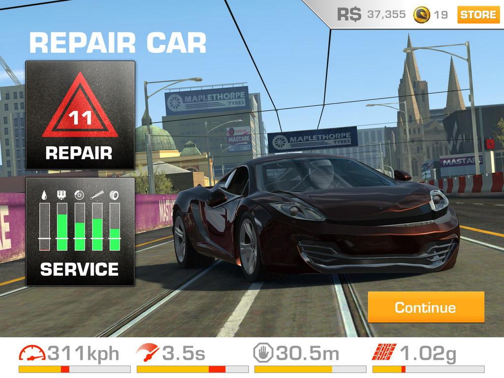 real racing 3 play store