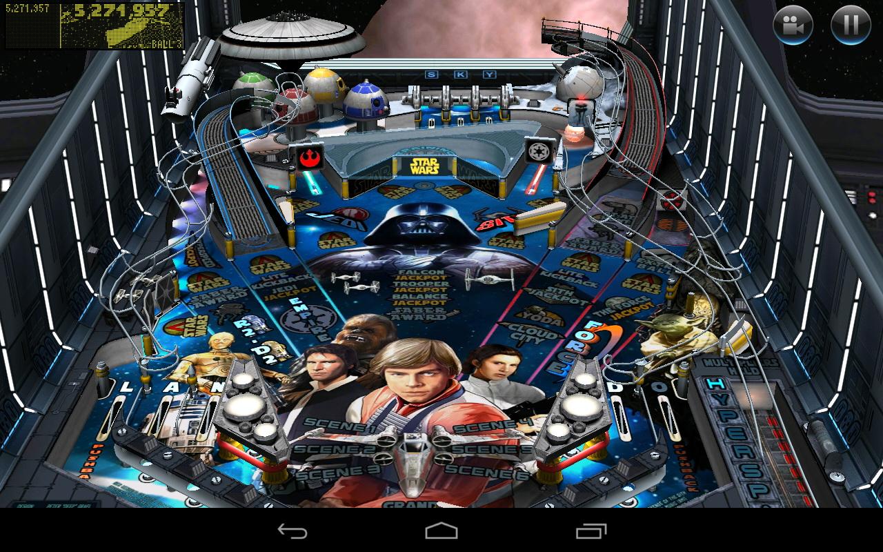 Star Wars Inspired Virtual Pinball Machine with Pinball ...