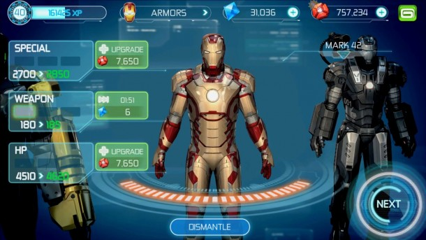 Iron Man 3 Items