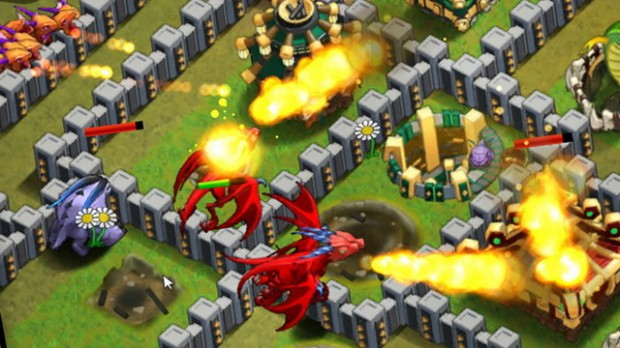 Battle Dragons Strategy Game
