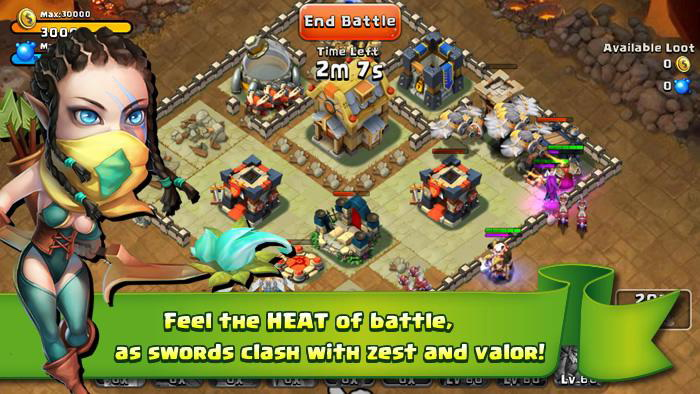 castle clash is heroes there are up to 20 different heroes in castle