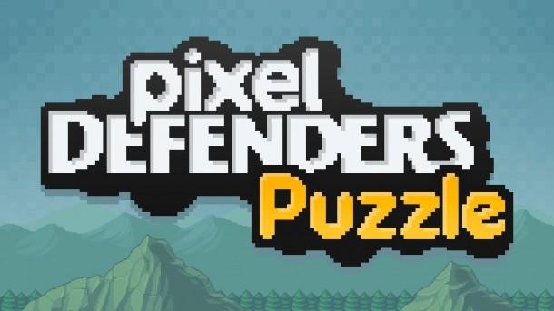 Pixel Defenders Puzzle Big