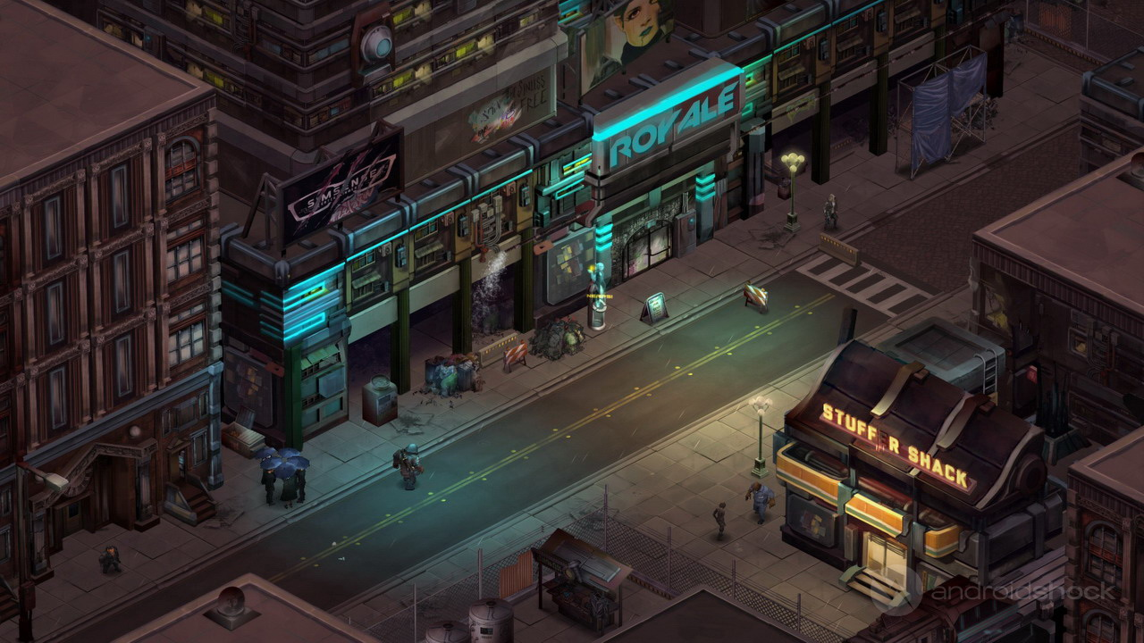 shadowrun returns all set for a showdown on android