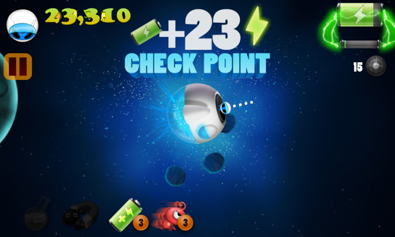 space hero review - a zappy galactic journey - androidshock