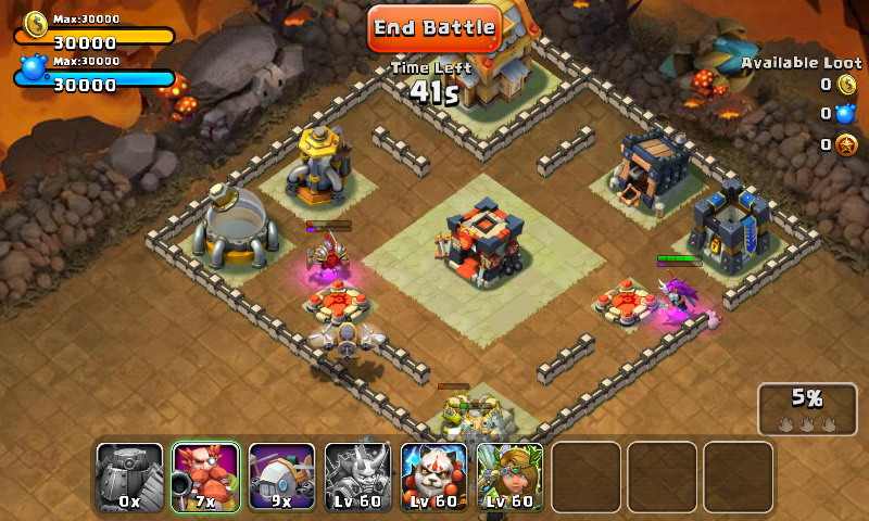 Castle Clash Review - Mighty Heroes in Spellbinding Battle