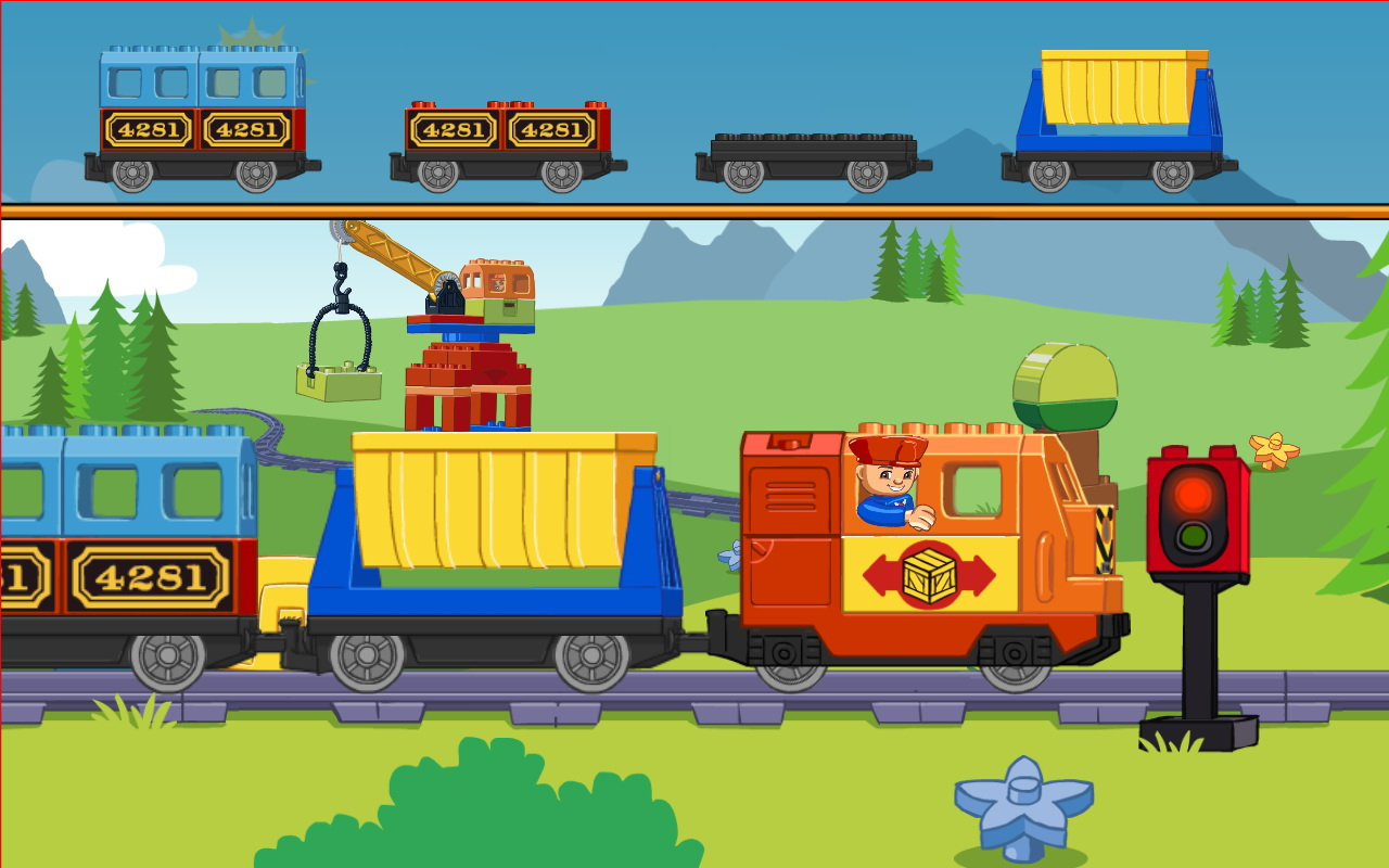 Lego train online games free