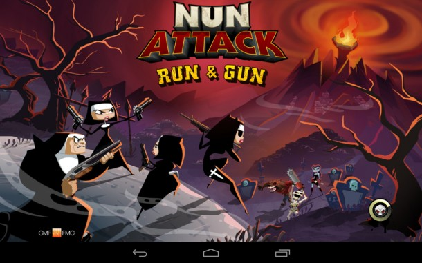 Nun Attack Run and Gun (1)