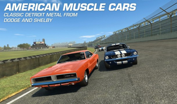 Real Racing 3 Update Muscle Cars