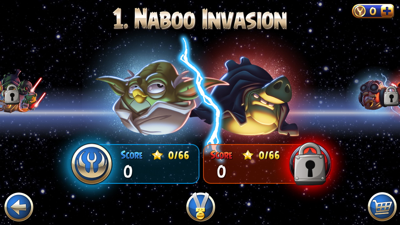 Angry Birds Star Wars II Review  The Force Is Strong With This