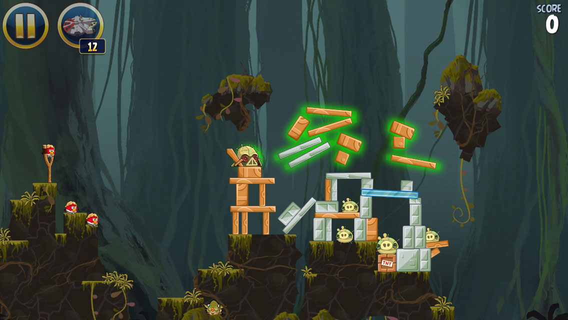 Angry birds star wars 2 revenge of the pork update out now for ios.