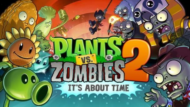 Plants vs Zombies 2 Cover