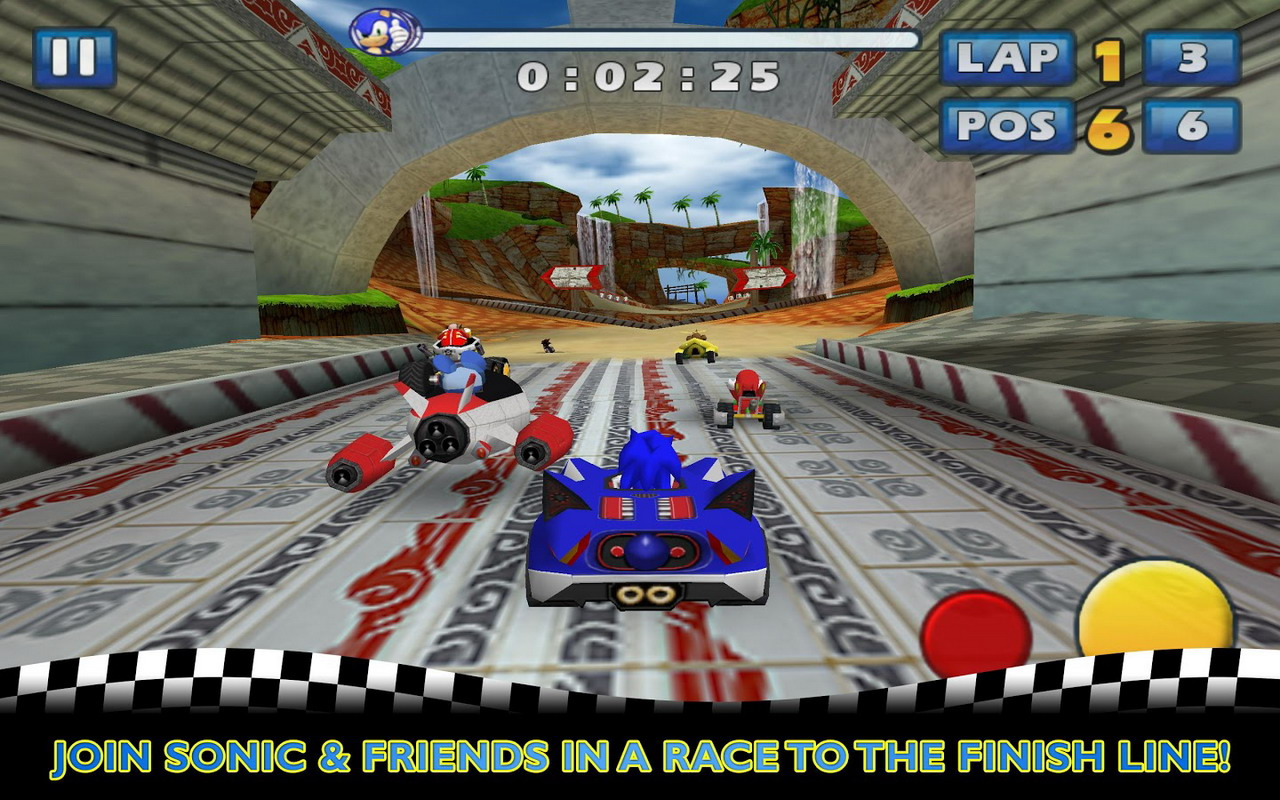 how to change controls in sonic all stars racing