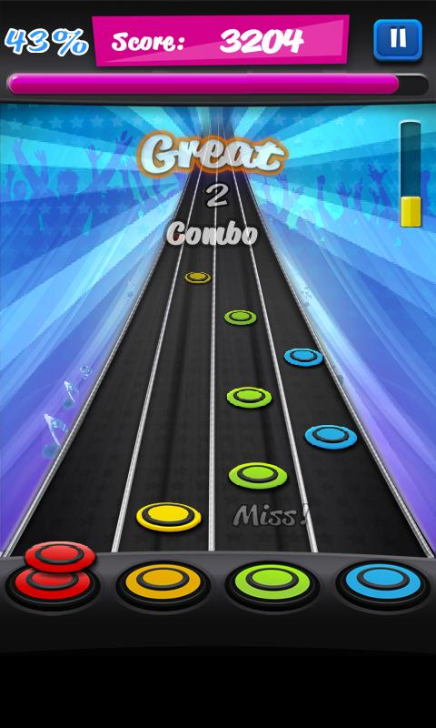 games like guitar hero for android