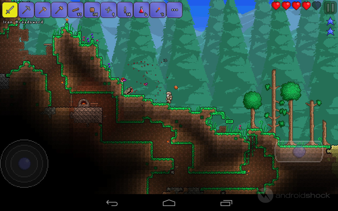 Terraria Review - Digging Up the Past - AndroidShock