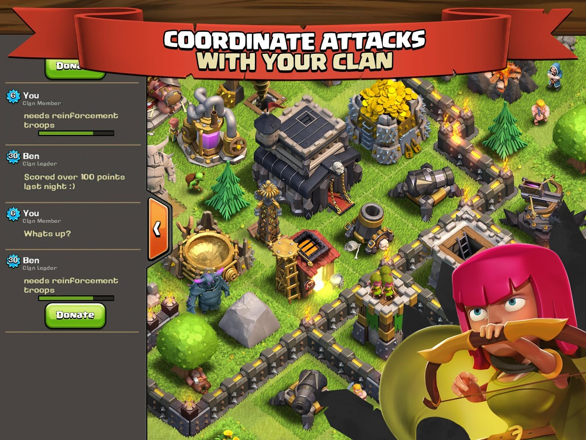 clash of clans download hack game