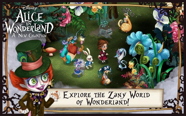 Disney Alice in Wonderland (1)