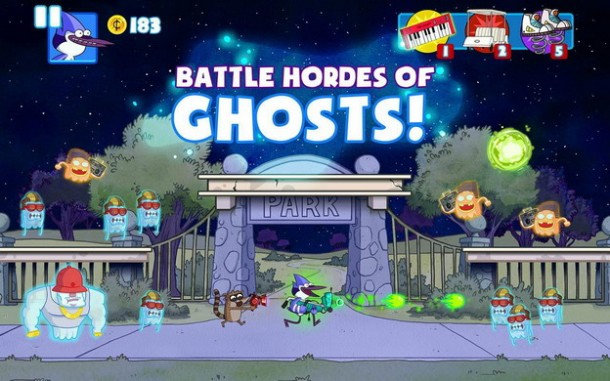 Ghost Toasters – Regular Show (1)
