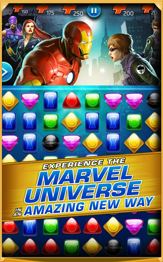 Surprise Game Marvel Puzzle Quest: Dark Reign Already On Android