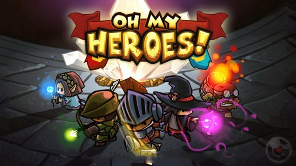 Oh My Heroes Cover