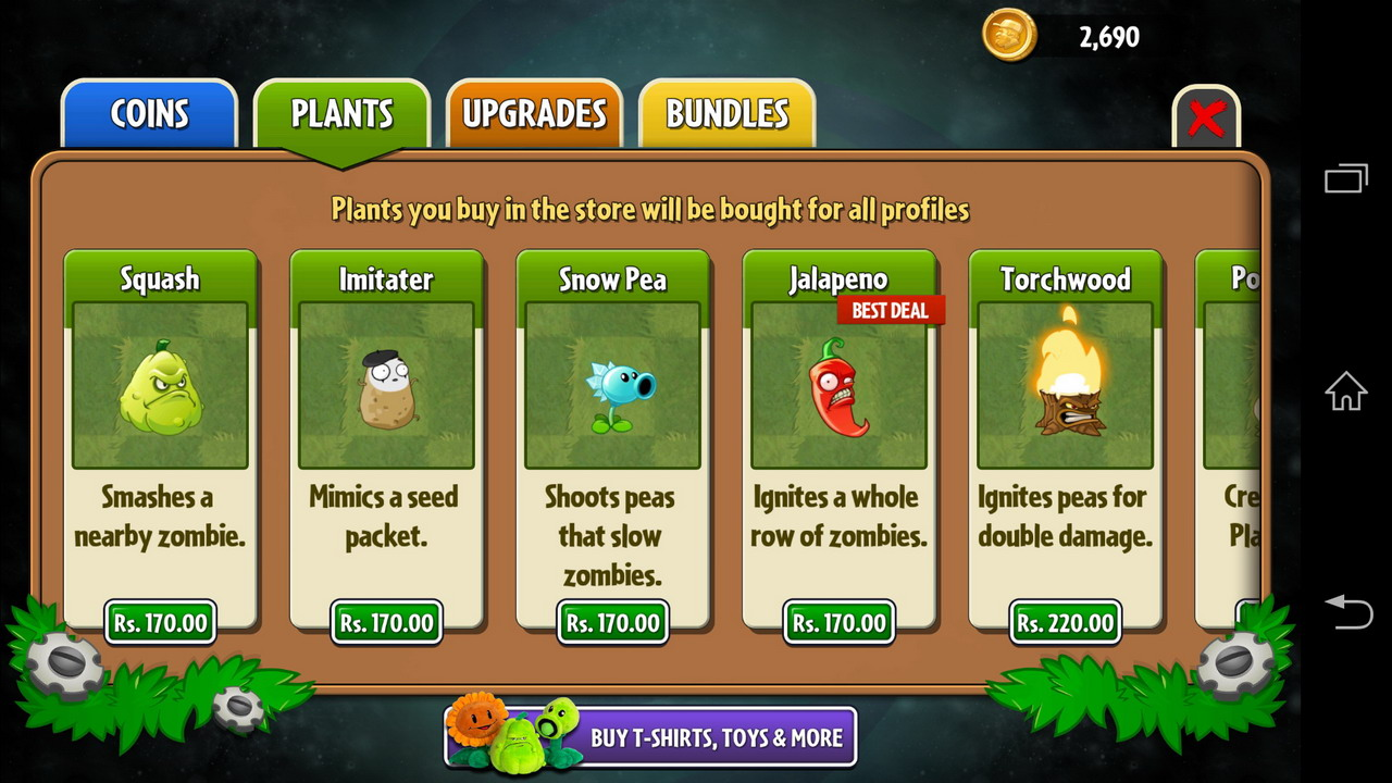 Plants vs Zombies 2 Review - Twice as Addictive - AndroidShock