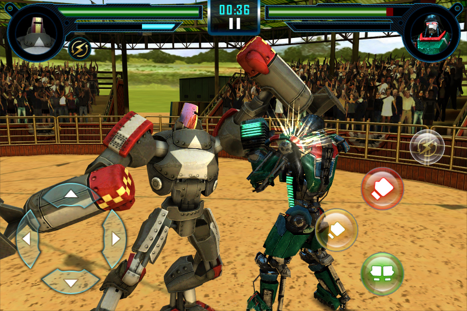 Real Steel World Robot Boxing Appstore for Android