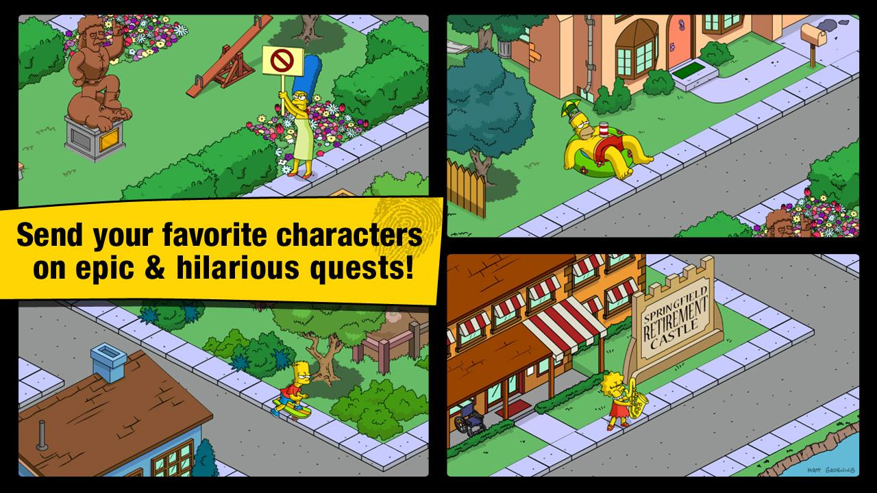 The Simpsons: Tapped Out Gets Ready For Halloween In New Update