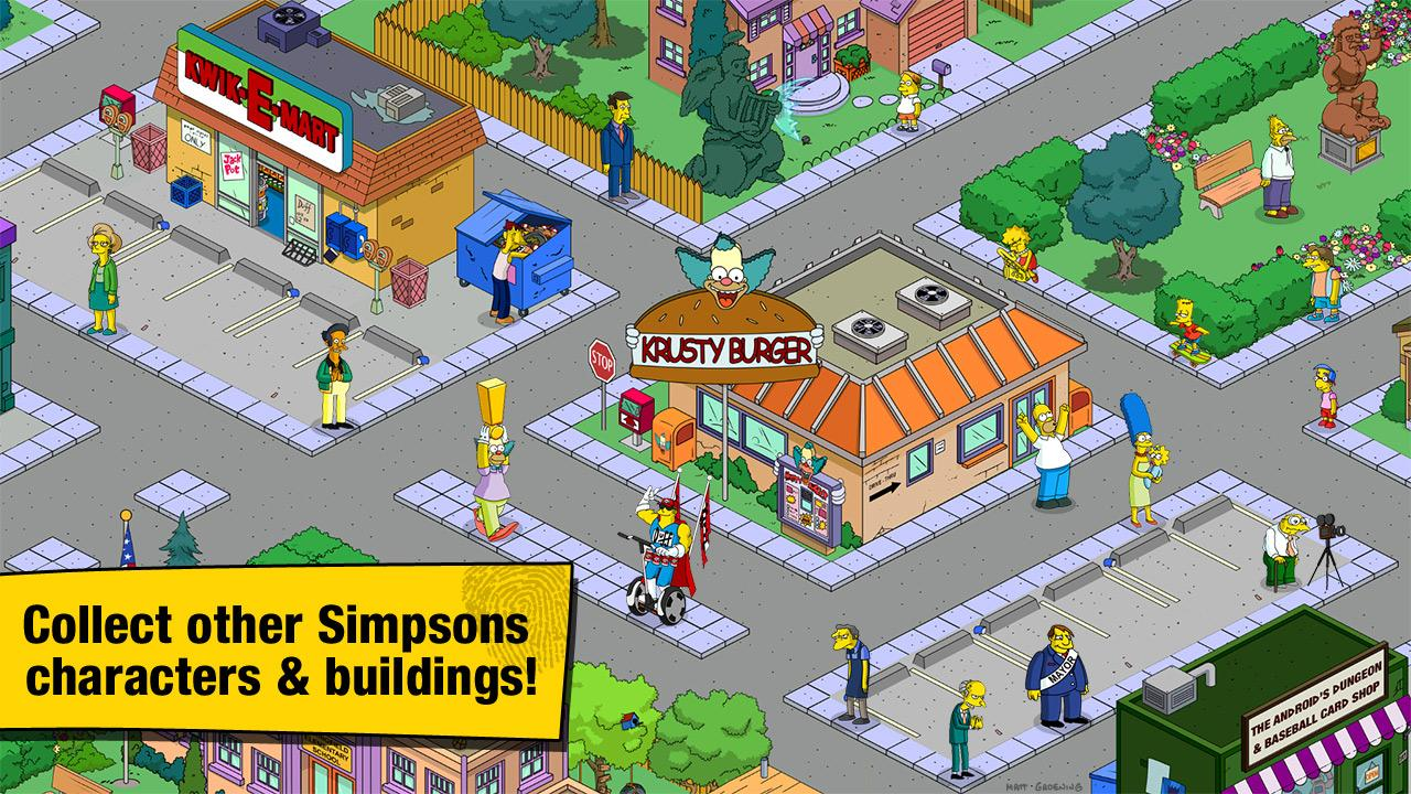 The Simpsons: Tapped Out Gets Ready For Halloween In New