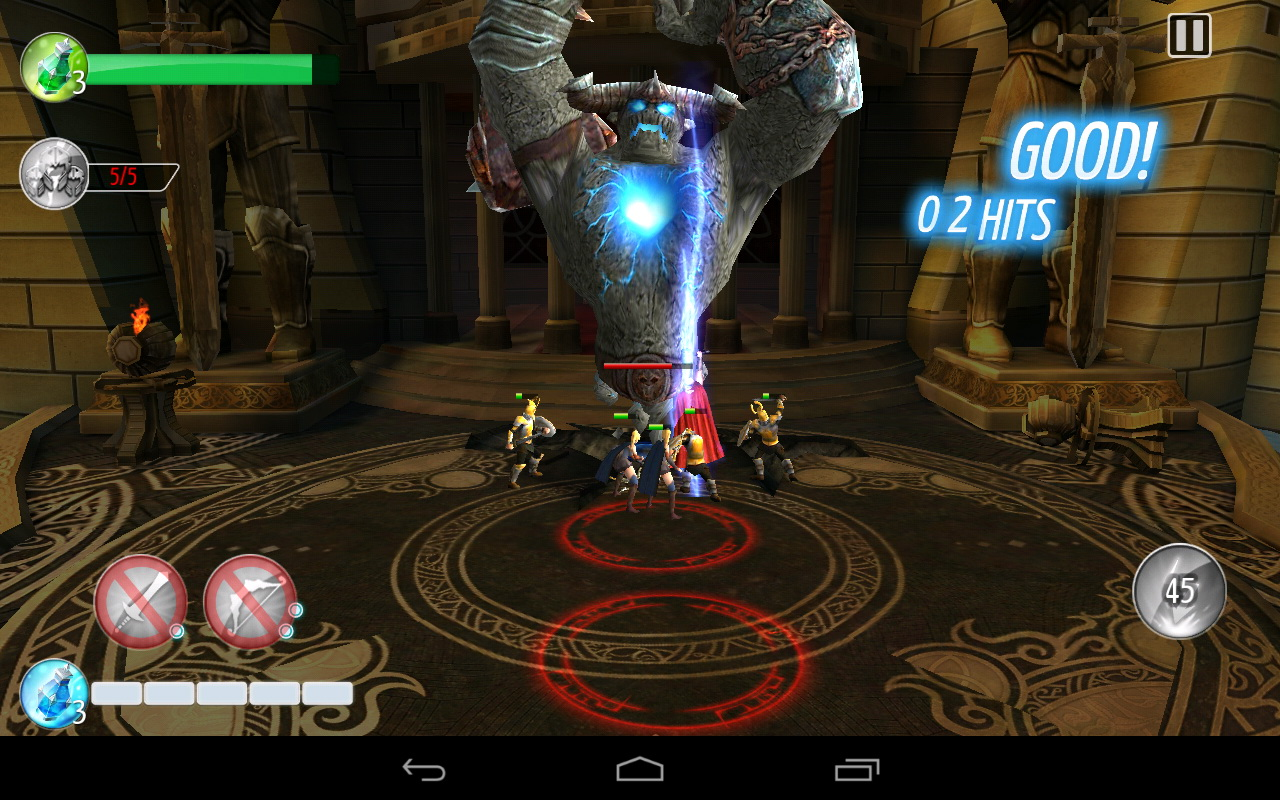 Image result for THOR THE DARK WORLD ANDROID GAME