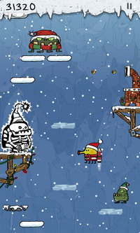 Doodle Jump Christmas Special (2)