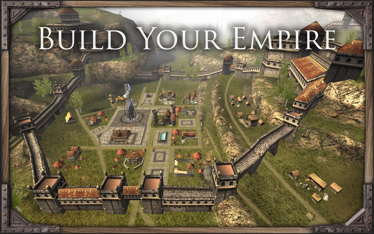 Command magic and build an empire in mmorts casters of for Build a house online free