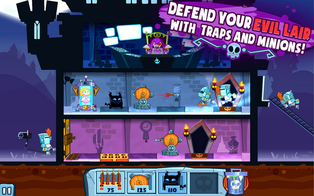 Become Anti-Hero in Adult Swim's New Game Castle Doombad