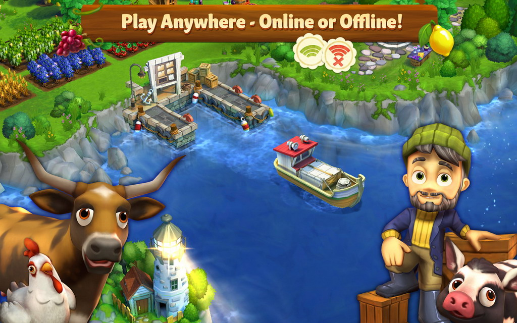Zynga Brings the Farmville Experience to Mobile in FarmVille