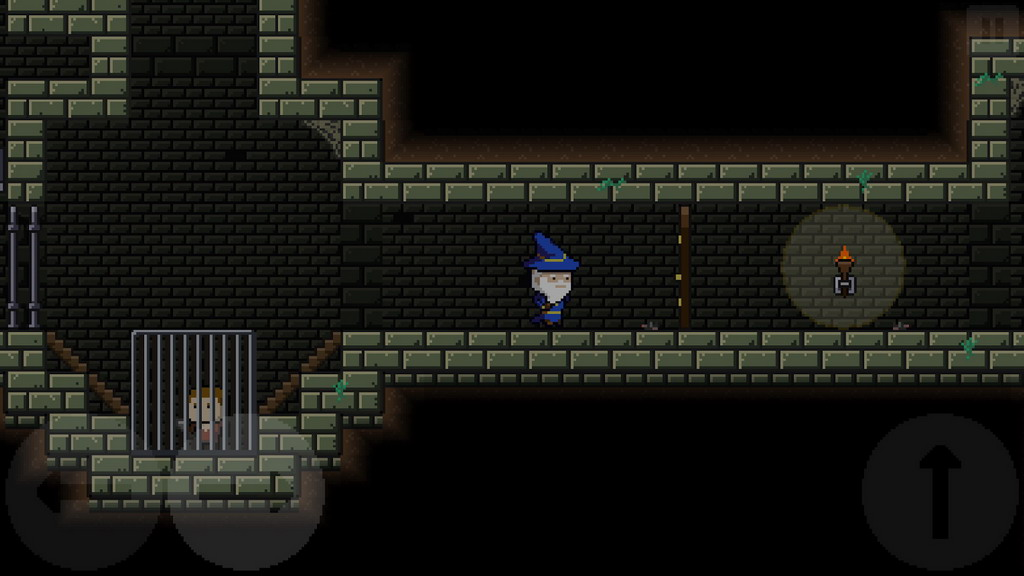8 Bit Retro Game Mage in Cage is Now Available on Android