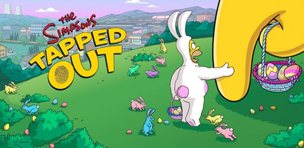 The Simpsons Tapped Out Easter Eggs