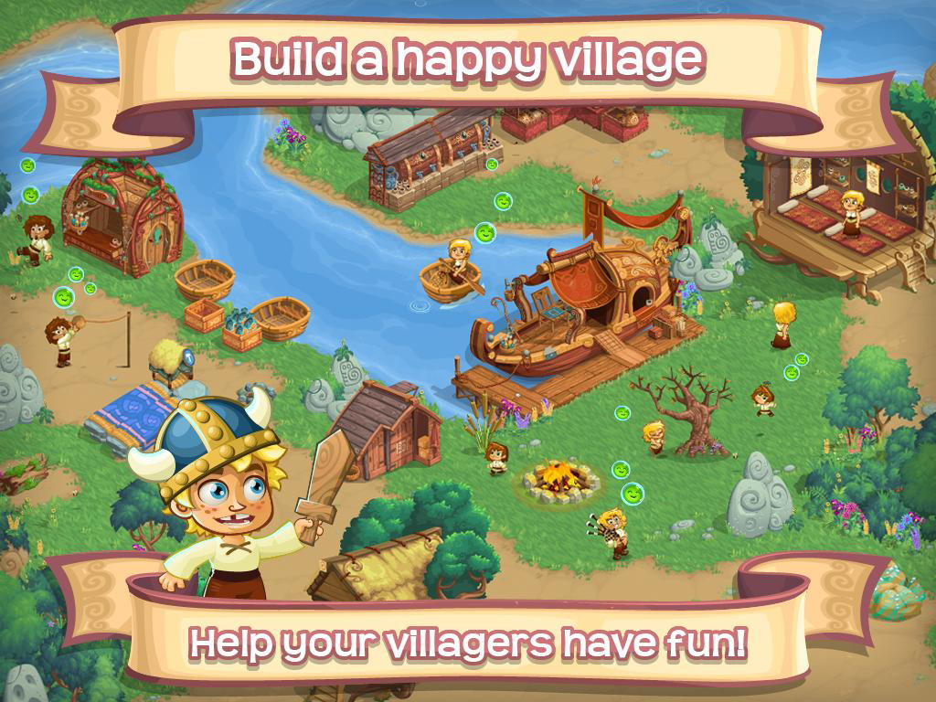 Fall in Love and Build a Family in Social Game Village