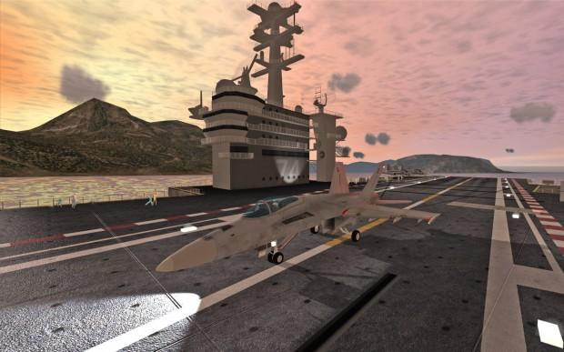 F18 Carrier Landing II (1)