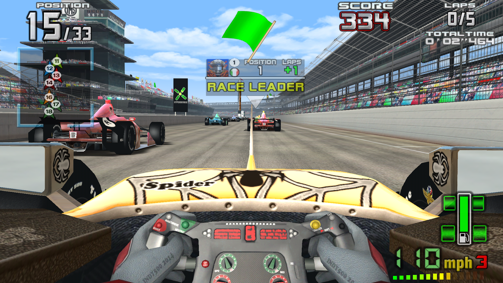 Impressive Racer INDY 500 Arcade Racing Smashes on to Google Play ...
