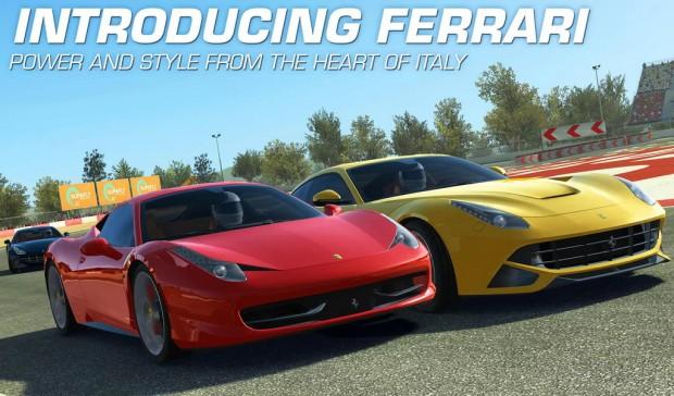 Real Racing 3 Ferrari