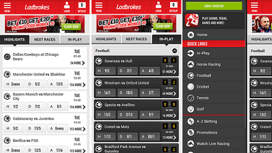 Ladbrokes Betting