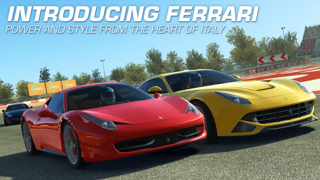 Real Racing 3 Updated With Classic Ferrari Supercars And New Series Androidshock
