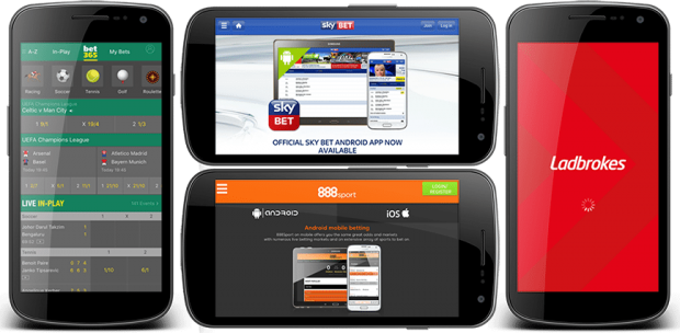Top 5 betting apps on Android